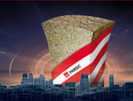 Nauja, itin efektyvi, universali akmens vatos plokštė PAROC® Ultra